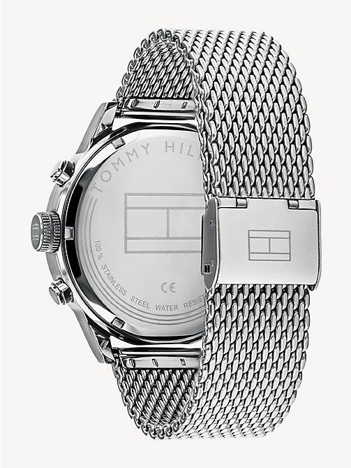 fd2d629fb7b6 TOMMY HILFIGERStainless Steel Dual Time Watch. £150.00