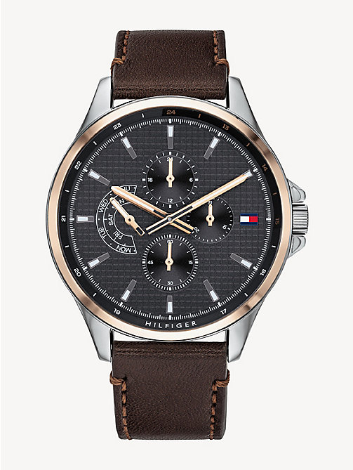 e4fc9808e19 Men's Watches | Leather Strap Watches | Tommy Hilfiger® FI