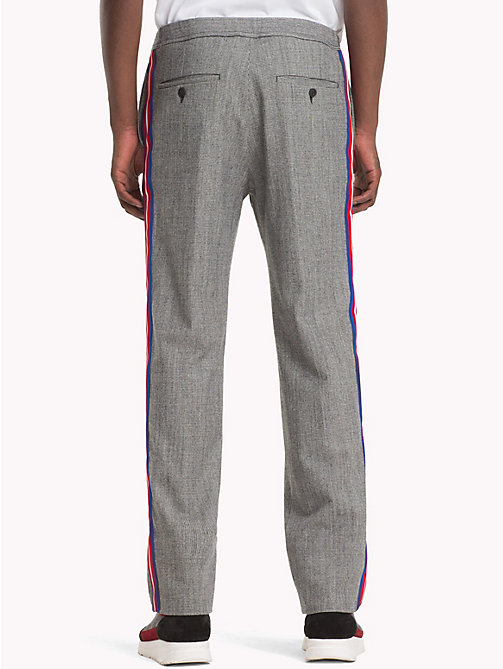 HILFIGER COLLECTION Pantaloni tecnici a quadri - SILVER FILIGREE - HILFIGER COLLECTION TOMMY NOW UOMO - dettaglio immagine 1