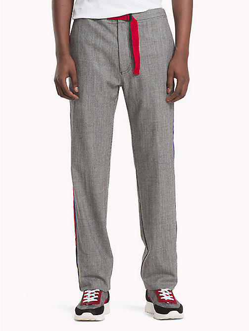 HILFIGER COLLECTION Pantaloni tecnici a quadri - SILVER FILIGREE - HILFIGER COLLECTION TOMMY NOW UOMO - immagine principale