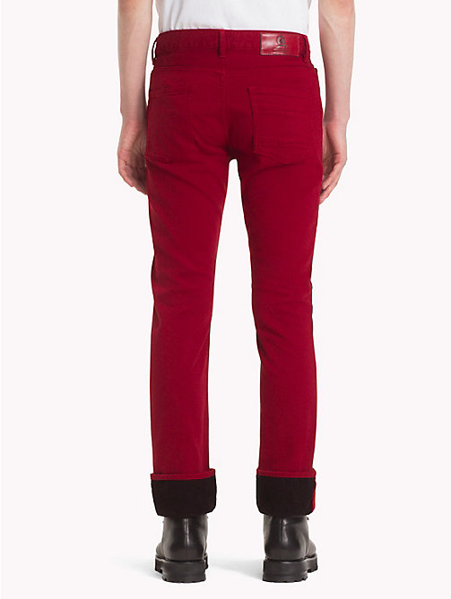 HILFIGER COLLECTION Slim Fit Jeans - RED -  TOMMY NOW MEN - detail image 1