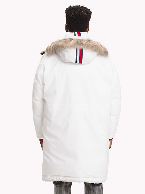 HILFIGER COLLECTION Hooded Down Parka Jacket - BRIGHT WHITE - HILFIGER COLLECTION TOMMY NOW MEN - detail image 1