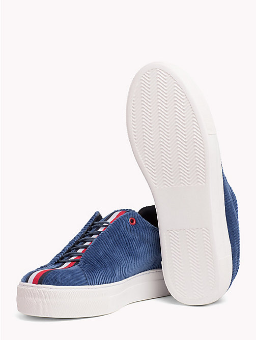 HILFIGER COLLECTION Sneaker casual in velluto a coste - LIGHT BLUE - HILFIGER COLLECTION TOMMY NOW UOMO - dettaglio immagine 1
