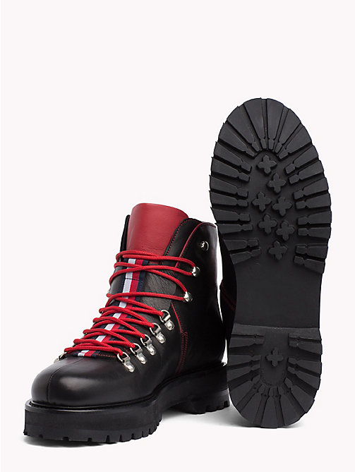 HILFIGER COLLECTION Bottines utilitaires - BLACK - HILFIGER COLLECTION TOMMY NOW HOMMES - image détaillée 1