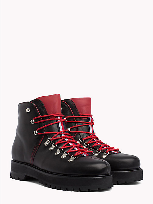 HILFIGER COLLECTION Bottines utilitaires - BLACK - HILFIGER COLLECTION TOMMY NOW HOMMES - image principale