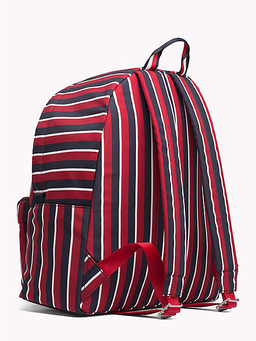 TOMMY HILFIGER Striped Crest Backpack - CORPORATE STRIPES - TOMMY HILFIGER TOMMY NOW MEN - detail image 1