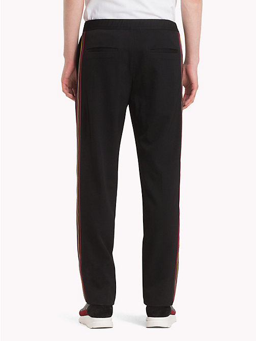 HILFIGER COLLECTION Wool Trousers - JET BLACK - HILFIGER COLLECTION TOMMY NOW MEN - detail image 1