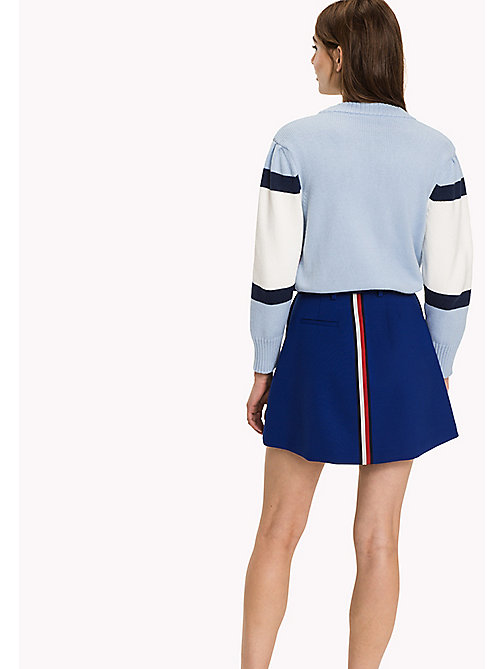 HILFIGER COLLECTION Minirock aus Wollgemisch - SURF THE WEB - HILFIGER COLLECTION Kleider, Jumpsuits & Röcke - main image 1
