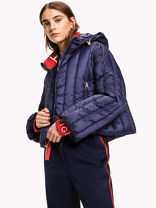 HILFIGER COLLECTION College-Daunenmantel - PEACOAT - HILFIGER COLLECTION Hilfiger Collection - main image