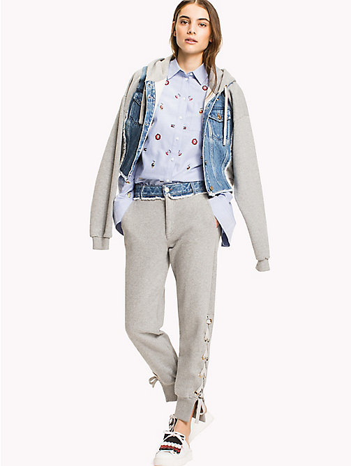 HILFIGER COLLECTION Hybrid-Jacke - LIGHT GREY MARL - HILFIGER COLLECTION HILFIGER COLLECTION - main image