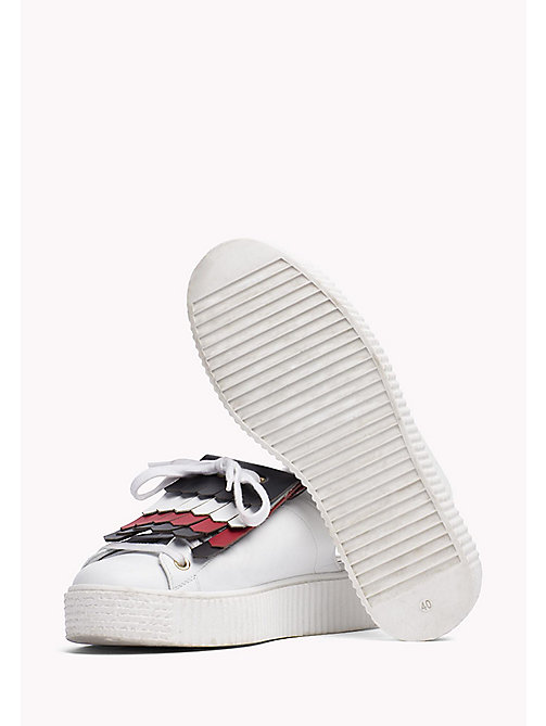 HILFIGER COLLECTION Fringed Slip-On Sneaker - SNOW WHITE - HILFIGER COLLECTION HILFIGER COLLECTION - detail image 1