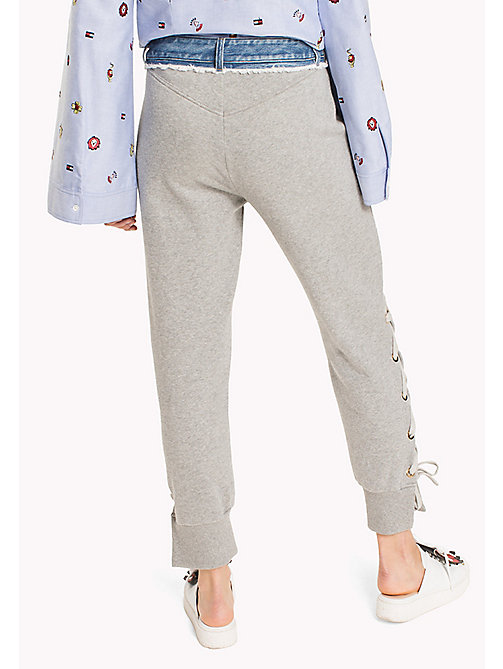 HILFIGER COLLECTION Hybride broek - LIGHT GREY MARL -  HILFIGER COLLECTION - detail image 1