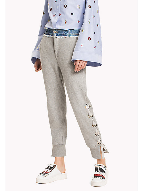 HILFIGER COLLECTION Hybride broek - LIGHT GREY MARL -  HILFIGER COLLECTION - main image