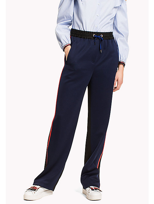 HILFIGER COLLECTION Pantalon de sport - PEACOAT / METEORITE - HILFIGER COLLECTION VACANCES - image principale