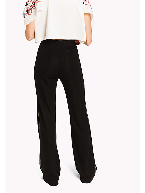 HILFIGER COLLECTION Flared Jersey Pant - METEORITE - HILFIGER COLLECTION Hilfiger Collection - detail image 1
