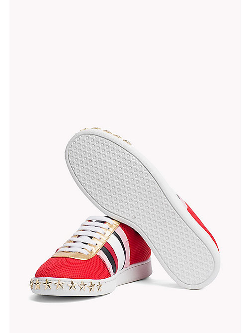 HILFIGER COLLECTION Star Stud Sneaker - Hilfiger Collection - TRUE RED / MULTI - HILFIGER COLLECTION HILFIGER COLLECTION - detail image 1