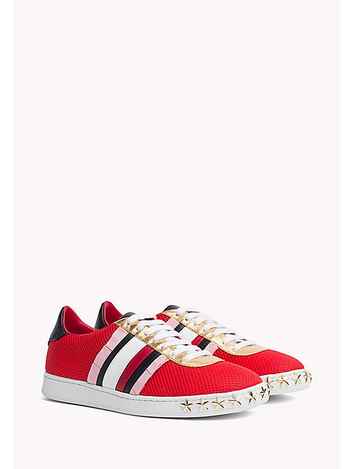 HILFIGER COLLECTION Star Stud Sneaker - Hilfiger Collection - TRUE RED / MULTI - HILFIGER COLLECTION HILFIGER COLLECTION - main image