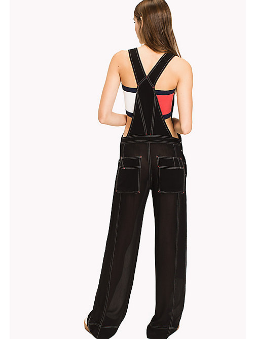 HILFIGER COLLECTION Sheer Overall - METEORITE - HILFIGER COLLECTION Clothing - detail image 1