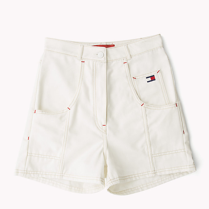 HILFIGER COLLECTION Tommy Flag Pocket Short - TOBACCO - HILFIGER COLLECTION Women - detail image 5