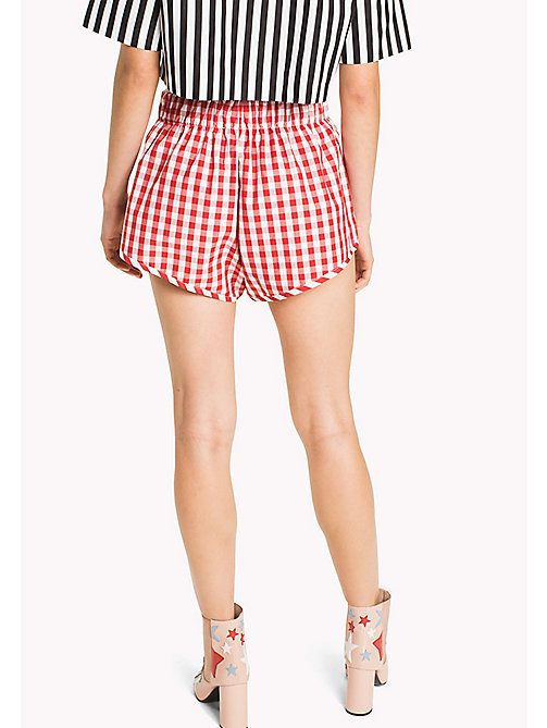 HILFIGER COLLECTION Gingham Stripe Short - TRUE RED / SNOW WHITE - HILFIGER COLLECTION HILFIGER COLLECTION - detail image 1
