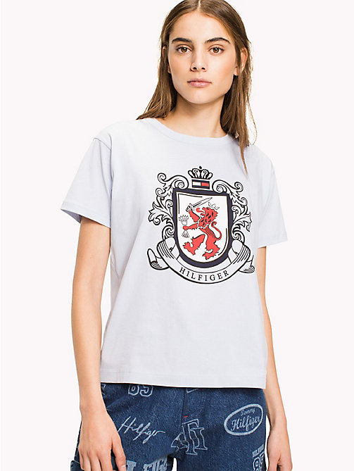 HILFIGER COLLECTION Hilfiger Crest T-Shirt - HEATHER - HILFIGER COLLECTION HILFIGER COLLECTION - main image