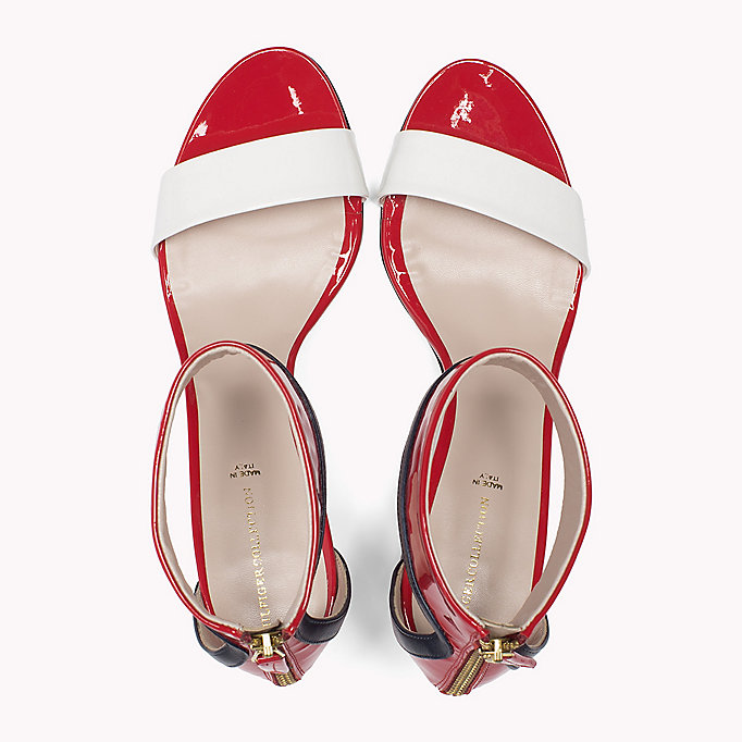 HILFIGER COLLECTION Patent Leather Strappy Sandal - NUDE - HILFIGER COLLECTION SHOES - detail image 3