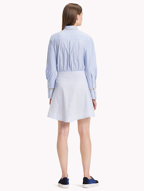HILFIGER COLLECTION Stripe Shirt Dress - FOREVER BLUE / MULTI - HILFIGER COLLECTION Shirt Dresses - detail image 1