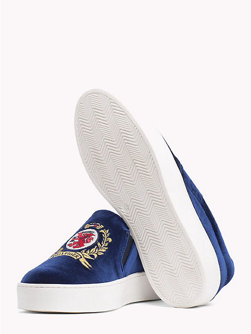 HILFIGER COLLECTION Crest Slip-On Trainers - DEEP WELL - HILFIGER COLLECTION TOMMY NOW WOMEN - detail image 1