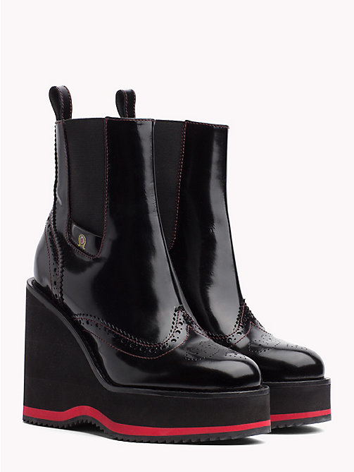 HILFIGER COLLECTION Stiefel mit Keilabsatz - METEORITE - HILFIGER COLLECTION High Heels Stiefel - main image
