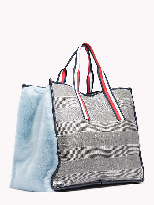 HILFIGER COLLECTION Borsa tote morbida - METEORITE / MULTI - HILFIGER COLLECTION TOMMY NOW DONNA - dettaglio immagine 1