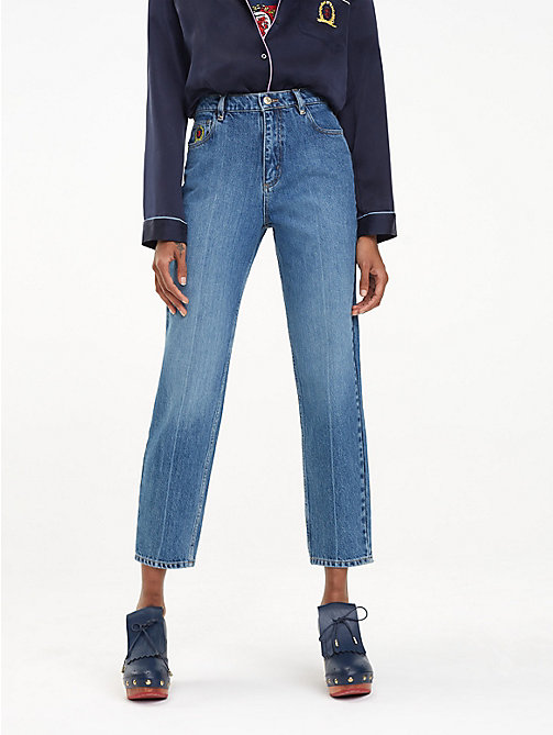 HILFIGER COLLECTION Jean Corita en denim - WASHED DENIM - HILFIGER COLLECTION Hilfiger Collection - image principale