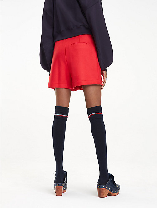 HILFIGER COLLECTION Wool Blend Skort - TRUE RED - HILFIGER COLLECTION Something Special - detail image 1