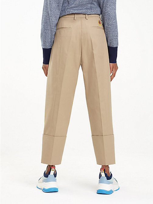 HILFIGER COLLECTION Chino en coton mélangé à bande emblématique - CORNSTALK - HILFIGER COLLECTION Hilfiger Collection - image détaillée 1