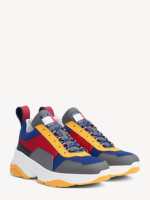 HILFIGER COLLECTION Colour-Blocked Trainers - TRUE RED - HILFIGER COLLECTION Hilfiger Collection - main image