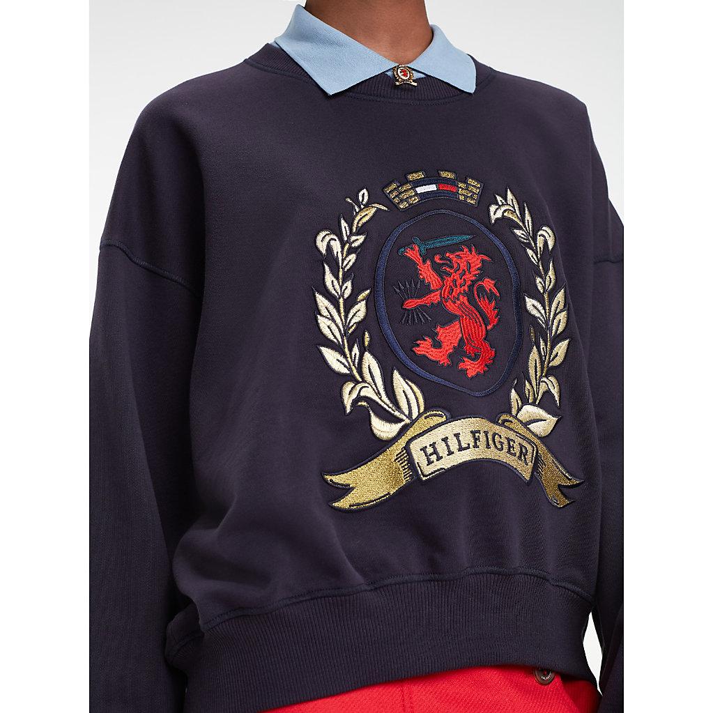 Tommy Hilfiger - Collar College Sweatshirt - 5
