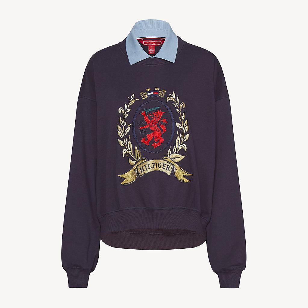 Tommy Hilfiger - Collar College Sweatshirt - 6