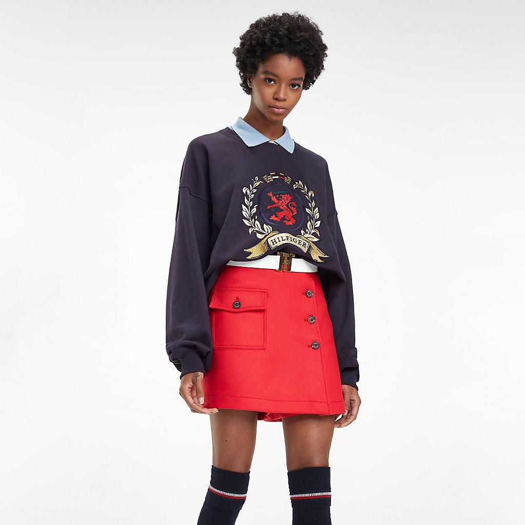 Tommy Hilfiger - Collar College Sweatshirt - 1