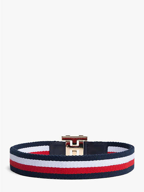 HILFIGER COLLECTION Elastic Monogram Belt - CORPORATE - HILFIGER COLLECTION Hilfiger Collection - detail image 1