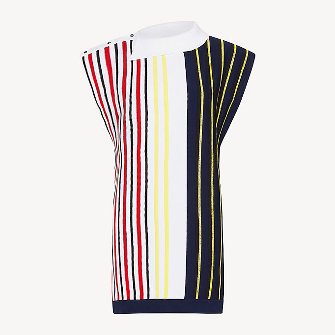 Pull à rayures Tommy Hilfiger multicolores