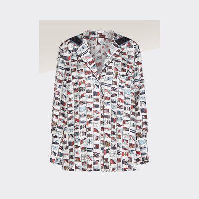 tommy hilfiger silk shirt