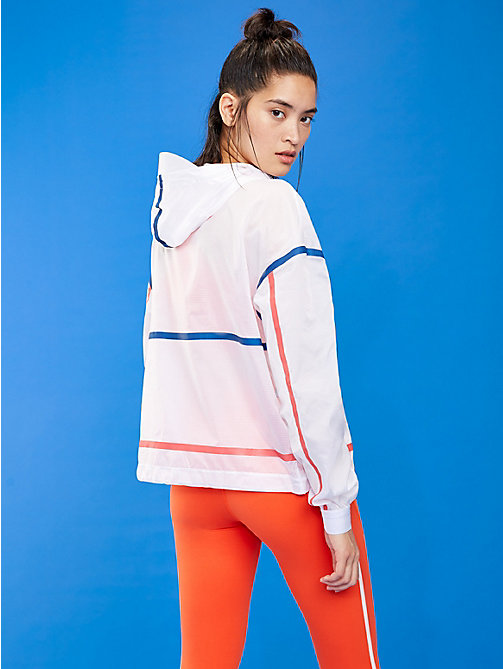 TOMMY SPORT Packable Reflective Jacket - PVH WHITE - TOMMY SPORT Women - detail image 1