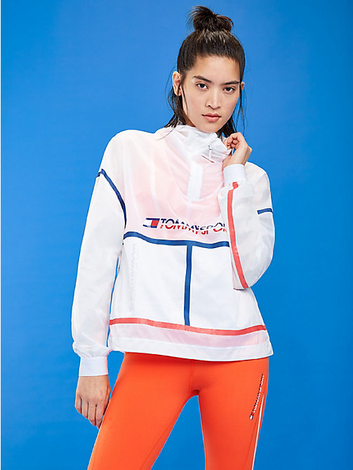 TOMMY SPORT Packable Reflective Jacket - PVH WHITE - TOMMY SPORT Women - main image