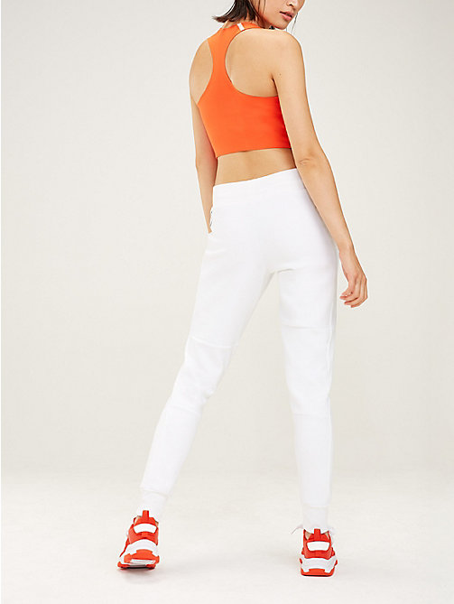 TOMMY SPORT Fleece jogger - PVH WHITE - TOMMY SPORT Dames - detail image 1