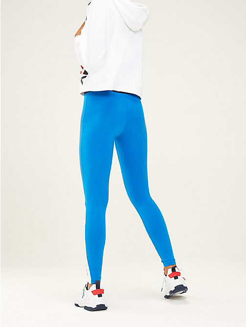TOMMY SPORT Легинсы с контрастной вставкой - PRINCESS BLUE - TOMMY SPORT Женщины - подробное изображение 1