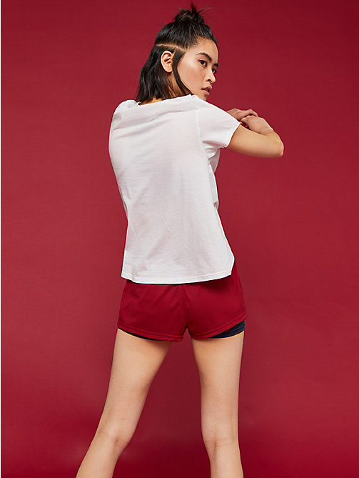 TOMMY SPORT Crew Neck T-Shirt - PVH WHITE - TOMMY SPORT Women - detail image 1