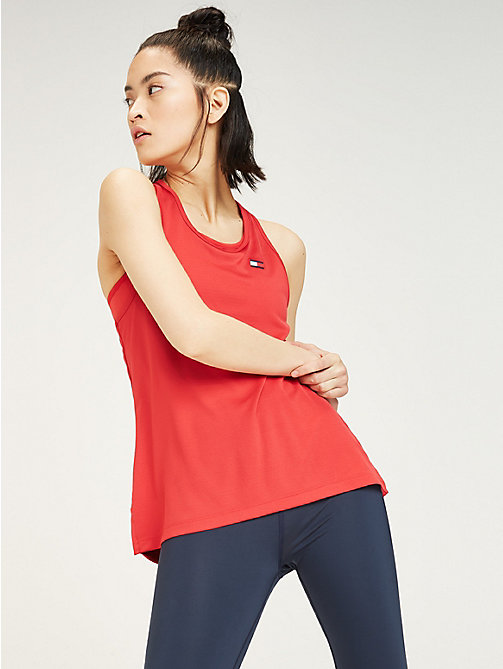 TOMMY SPORT Tommy Sport Logo Tank Top - TRUE RED - TOMMY SPORT Women - main image