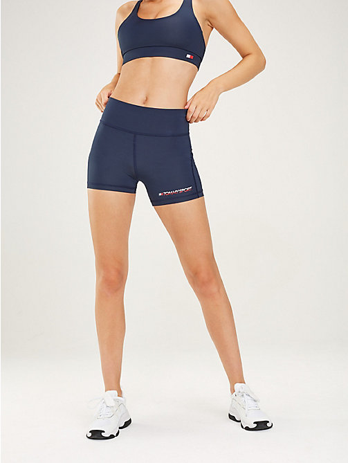 TOMMY SPORT Short met brede tailleband - SPORT NAVY - TOMMY SPORT Dames - main image