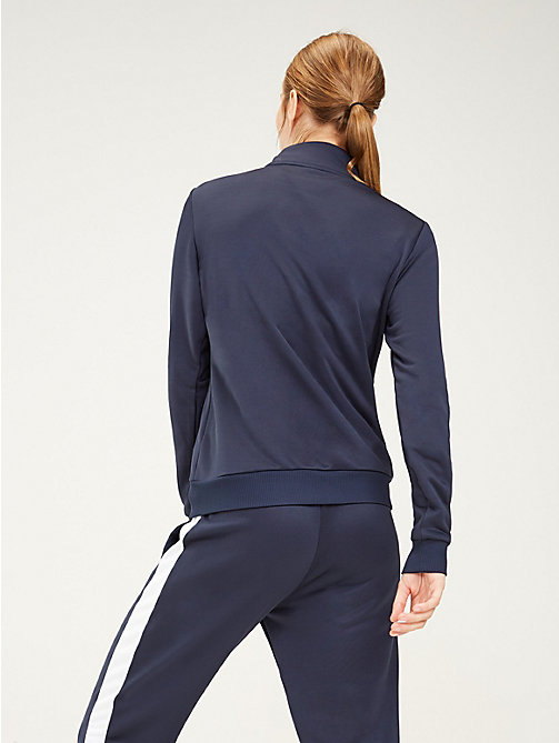 TOMMY SPORT Zip-Thru Track Jacket - SPORT NAVY - TOMMY SPORT Women - detail image 1