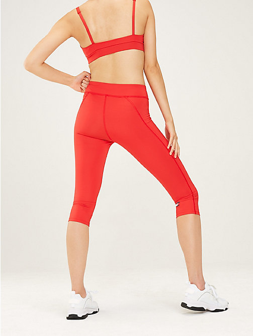 TOMMY SPORT Capri-Leggings mit hoher Leibhöhe - TRUE RED - TOMMY SPORT Damen - main image 1