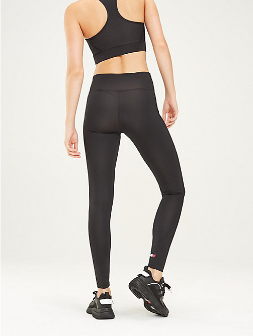 TOMMY SPORT Logo-Leggings mit hoher Leibhöhe - PVH BLACK - TOMMY SPORT Damen - main image 1